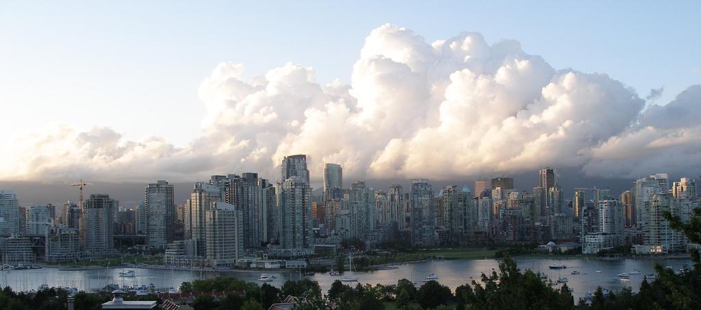 Das Foto zeigt die Stadt Vancouver. Sie gilt als eine der Städte mit hoher Resilienz.
